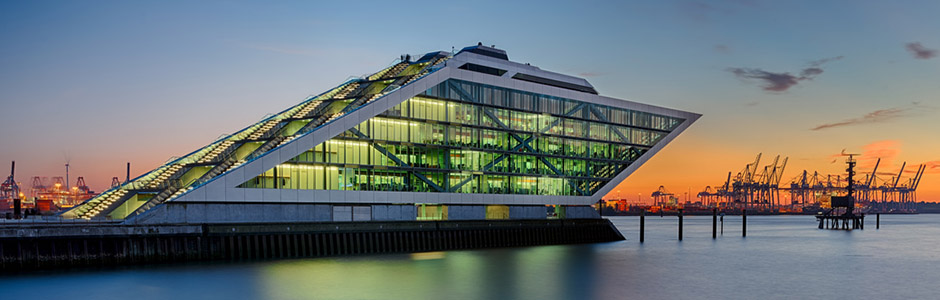 Hamburg Dockland Hafen
